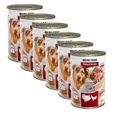 Nou Conservă BEWI DOG – Poultry - 6 x 400g