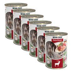 Nou Conservă BEWI DOG – Wild - 6 x 400g, 5+1 GRATUIT