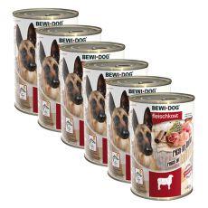Nou Conservă BEWI DOG – Lamb - 6 x 400g, 5+1 GRATUIT