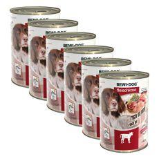 Nou Conservă BEWI DOG – Veal - 6 x 400g, 5+1 GRATUIT