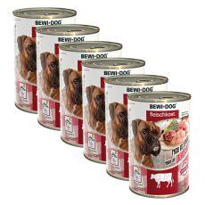 Nou Conservă BEWI DOG – Beef Tripe - 6 x 400g, 5+1 GRATUIT