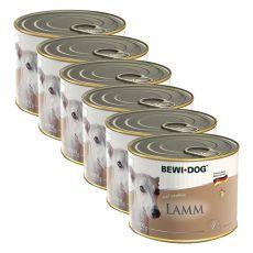 BEWI DOG Paté - Lamb - 6 x 200g, 5+1 GRATUIT