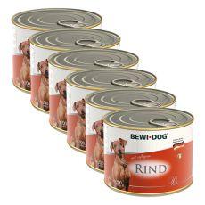 Bewi dog Paté – Rind - 6 x 200g, 5+1 GRATUIT