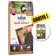Bosch ADULT MAXI - 15kg + 3kg GRATUIT