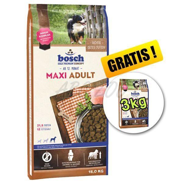 bosch adult maxi 15kg 3kg gratuit abc zoo. Black Bedroom Furniture Sets. Home Design Ideas