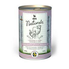 Conservă Bozita Naturals Chicken & Lamb, 410g