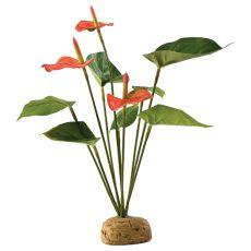 Exo Terra plantă pentru terariu- Anthurium bush, 30cm