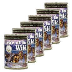 TASTE OF THE WILD Wetlands Canine - conservă, 6 x 390g