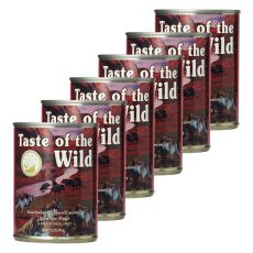 Conservă TASTE OF THE WILD Southwest Canyon Canine - 6 x 390g