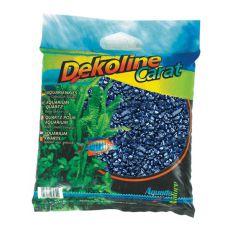 Pietriș pentru acvariu Dekoline Carat Metallic Blue - 5kg