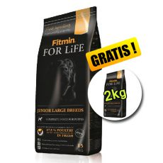 Fitmin FOR LIFE Junior Large Breed 15+2kg GRATUIT