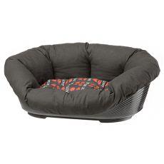 Culcuş pentru câini şi pisici SOFA 4 cu pernă - 64 x 48 x 25 cm