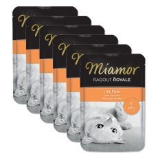 MIAMOR Ragout Royal 6 x 100 g - Curcan