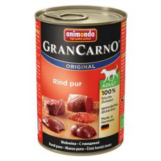 Conservă GranCarno Original Adult beef - 400g