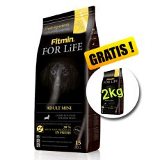 Fitmin FOR LIFE Adult Mini 15+2 kg - LIVRARE GRATUIT