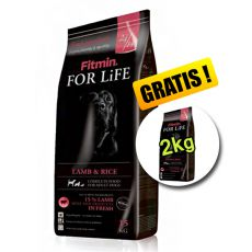 Fitmin FOR LIFE Adult Lamb & Rice 15+2 kg GRATUIT