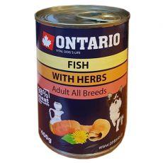 Conservă ONTARIO Pește și ulei de somon – 400g