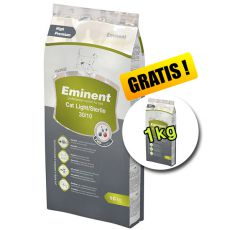 Eminent Cat Light / Sterile 10 kg + 1 kg GRATUIT