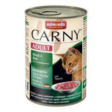 CARNY ADULT conservă cu carne de vită, de vânat și merișor - 400 g