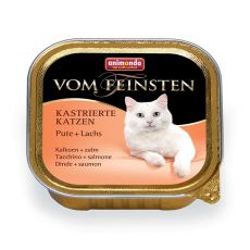 Animonda Vom Feinsten Castrated Cats - curcan + somon 100g