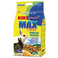 KIKI EXCELLENT MAX MENU - hrană pentru iepuri pitici 4kg