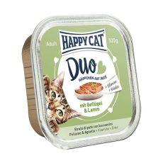 Happy Cat DUO MENU - pui şi miel, 100g
