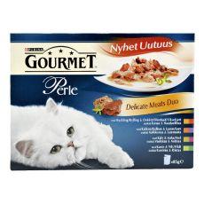 Pungă GOURMET PERLE - carne delicioasă duo, 4 x 85g
