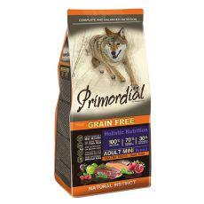 Primordial GF ADULT SMALL - raţă şi păstrăv, 2kg