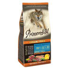 Primordial GF ADULT - raţă şi păstrăv, 12kg