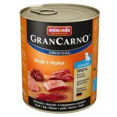 Conservă GranCarno Original Junior vită + pui - 800g