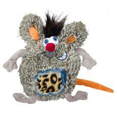 Jucărie câine - șoarece de pluș, 17 cm