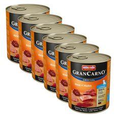 Conservă GranCarno Fleisch Junior vită + pui - 6 x 800g