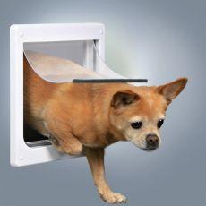 Ușă cu 2 sensuri pentru câini și pisici, XS - S, 25 x 29 cm