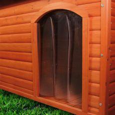 Uşă de plastic pentru cuşca câinelui - 34x52cm