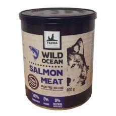 Conservă Terra Natura Wild Ocean Salmon Meat  800g
