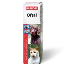 Picături pentru ochi Beaphar Oftal - 50ml
