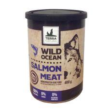 Conservă Terra Natura Wild Ocean Salmon Meat 400g