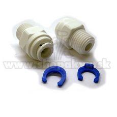 """Conector de 1/4"""" – Adaptor drept pentru instalațiile de osmoză inversă – 2 bucăți"""
