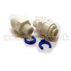 """Conector de 1/8"""" – Adaptor drept pentru instalațiile de osmoză inversă – 2 bucăți"""