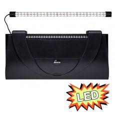 Capac acvariu cu iluminare 60x30cm LED EXPERT 13W - NEGRU, drept