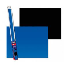 Fundal decor de acvariu BLACK/BLUE S - 60 x 30cm