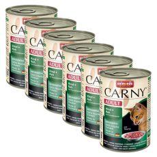 CARNY ADULT conservă cu carne de vită, de vânat și merișor - 6 x 400 g