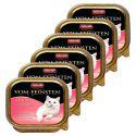 Pateu Animonda Vom Feinsten Adult Cats - cu inimă de curcan 6 x 100g