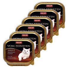 Pateu Animonda Vom Feinsten Adult Cats - amesctec de carne 6 x 100g.