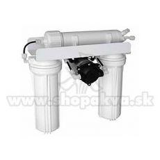 Instalație de osmoză inversă cu pompă de suprapresiune (336 litri la fiecare 24 ore)