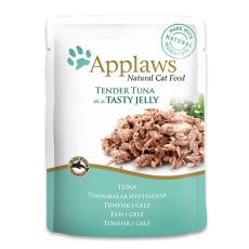 Pliculeț APPLAWS Cat Pouch, ton în gelatină 70g