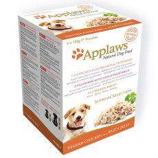 Hrană la plic APPLAWS dog SUPREME SELECTION  5x100g