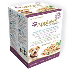 APPLAWS dog FINEST SELECTION plic, 5x100g