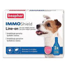 """BEAPHAR IMMO SHIELD pentru câine """"S"""" 3 x 1,5ml"""