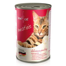 Conservă BEWI CAT Meatinis cu pui, 400g
